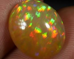 3.50 CT Caramel Brown Welo Prism Pattern #