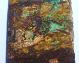 94.6ct Australian Queensland Boulder Opal Slab Specimen