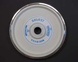 "NEW 8"" GALAXY DIAMOND PACIFIC GRINDING WHEEL 80 GRIT"