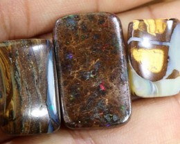 32 CTS YOWAH OPAL POLISHED STONE PARCEL ADO-4120