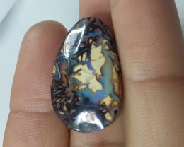 24.70 CT VIDEO VIEW YOWAH BOULDER OPAL   SS00295