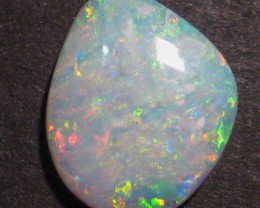 2.2ct Australian Crystal Opal Solid, 13x10mm