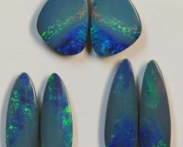 9.07 CTS  3 SETS  OF OPAL MATCHING DOUBLET PAIRS D707