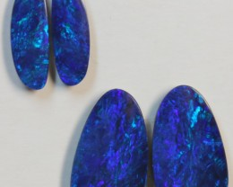 9.11  CTS 2 SETS  OF OPAL MATCHING DOUBLET PAIRS D708