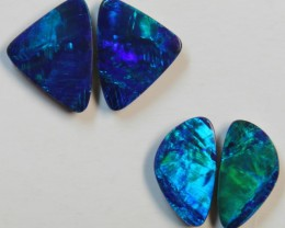 7.13 CTS 2 SETS  OF OPAL MATCHING DOUBLET PAIRS D712