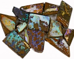 290 CTS  MIXED WOOD FOSSIL OPAL ROUGH PARCEL- [BY7321]