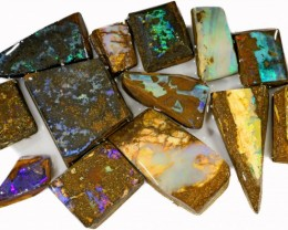 335 CTS MIXED WOOD FOSSIL OPAL ROUGH PARCEL- [BY7323]