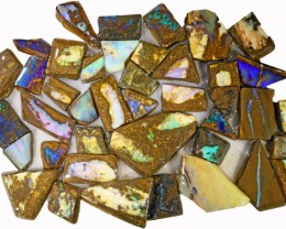765 CTS MIXED WOOD FOSSIL BOULDER OPAL ROUGH PARCEL- [BY7332]