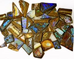 810 CTS MIXED WOOD FOSSIL BOULDER OPAL ROUGH PARCEL- [BY7333]