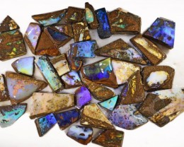 845 CTS MIXED WOOD FOSSIL BOULDER OPAL ROUGH PARCEL- [BY7335]