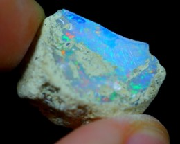 10.94Cts Natural Ethiopian Welo Rough Opal
