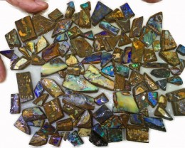 2510 CTS MIXED WOOD FOSSIL BOULDER OPAL ROUGH PARCEL- [BY7345]