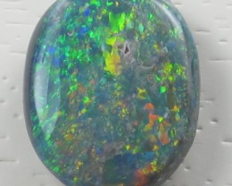 Solid Black  Opal (209) from Lightning Rodge