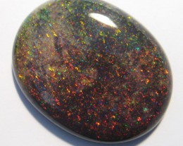 38.08ct Australian Andamooka Matrix Opal Solid, 31x24mm