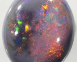 3.35 CTS CABOCHON BLACK OPAL PPP571