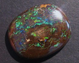 33.3ct Australian Queensland Boulder Opal Solid, 26x21mm