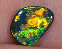 1.1ct Sparkling Gem Lightning Ridge Opal Doublet