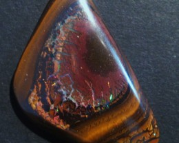 53.9ct Australian Queensland Boulder Opal Solid, 43x26mm