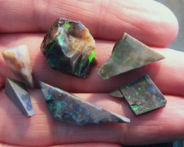 Parcel of Australian Andamooka Matrix Rough Opal