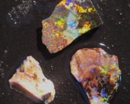 Australian Gem Andamooka Matrix Opal Rough Parcel.