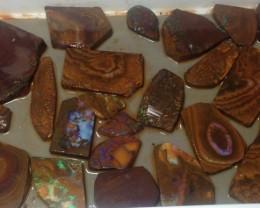 1960cts Koroit Boulder Opal Slabs Parcel ELS09