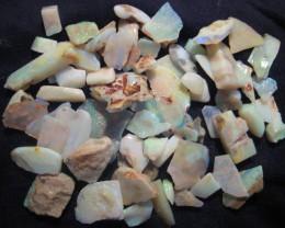 Parcel of Australian Andamooka Rough Opal - bright offcuts