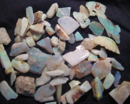 Parcel of Australian Andamooka Rough Opal - bright offcuts