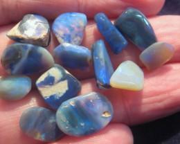Parcel of mixed Australian Andamooka and Lightning Ridge Rough Opal