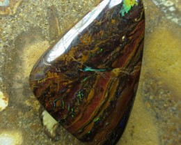 """22cts.""""BOULDER MATRIX OPAL~FROM OUR MINES"""""""