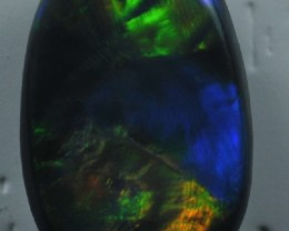 Solid Black  Opal (192) from Lightning Rodge