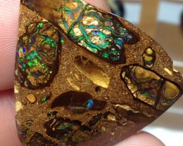 43cts Koroit Boulder Opal Picture Stone AC751