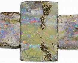 CTS BOULDER OPAL SET -WELL POLISHED [SO ]