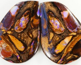 75.25 CTS BOULDER OPAL PAIR -WELL POLISHED [SO7502 ]