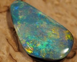 9.4 cts Very rare black opal from Andamooka