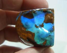 272ct Blue green rough boulder opal