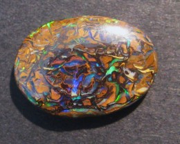 6.3ct Australian Queensland Boulder Opal Solid, 17x12mm