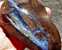 Boulder Opal Craving, Budgerigar Mine 347ct