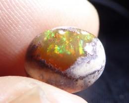 3.5ct Natural Mexican Matrix Cantera Multicoloured Fire Opal
