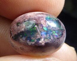 8.5ct Natural Mexican Matrix Cantera Multicoloured Fire Opal
