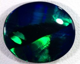 N-1  4.6 CTS QUALITY BLACK SOLID OPAL LIGHTNINGRIDGE INV-404