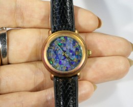 Ladies Opal watch Mosiac opal insert dial CF 623