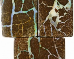215 Cts Parcel three Boulder Yowah  opals CF 616