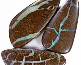 165 Cts Parcel three Boulder Yowah  opals CF 625