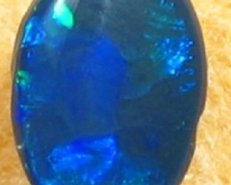 Solid Black  Opal (157) from Lightning Rodge