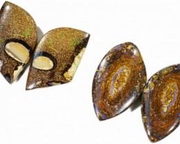 69Cts Boulder Yowah Opal Set CF 644