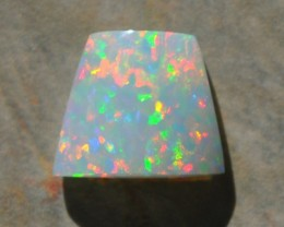 6.50ct ETHIOPIAN WELLO WHITE BASED CRYSTAL GEM OPAL BRILLIANT CONFETTI