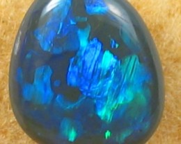 Solid Black  Opal (97) from Lightning Rodge