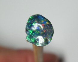 1.34Ct Black Opal Cut Lightning Ridge Stone