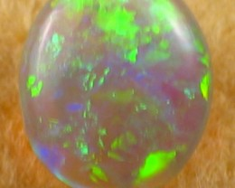 Solid Crystal Opal (102) from Lightning Ridge