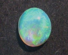 Australian Lightning Ridge Gem Crystal Opal Solid, 5 x 4.5mm